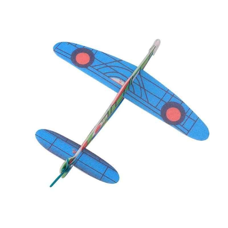 Hand Launch การขว้างปาเครื่องร่อน Aircraft Inertial Foam DIY เครื่องบินของเล่นเด็กเครื่องบินรุ่นเด็กสนุกกลางแจ้งของเล่นเด็กใหม่ร้อน