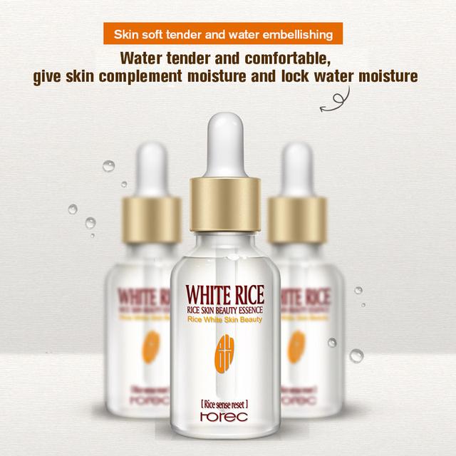 White Rice Whitening Anti Wrinkle Anti Aging Face Skin Care