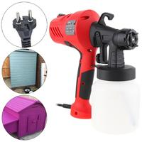 110/220V 400W Electric Spray Gun HVLP Paint Sprayer Painting Compressor with Adjustable Flow Control