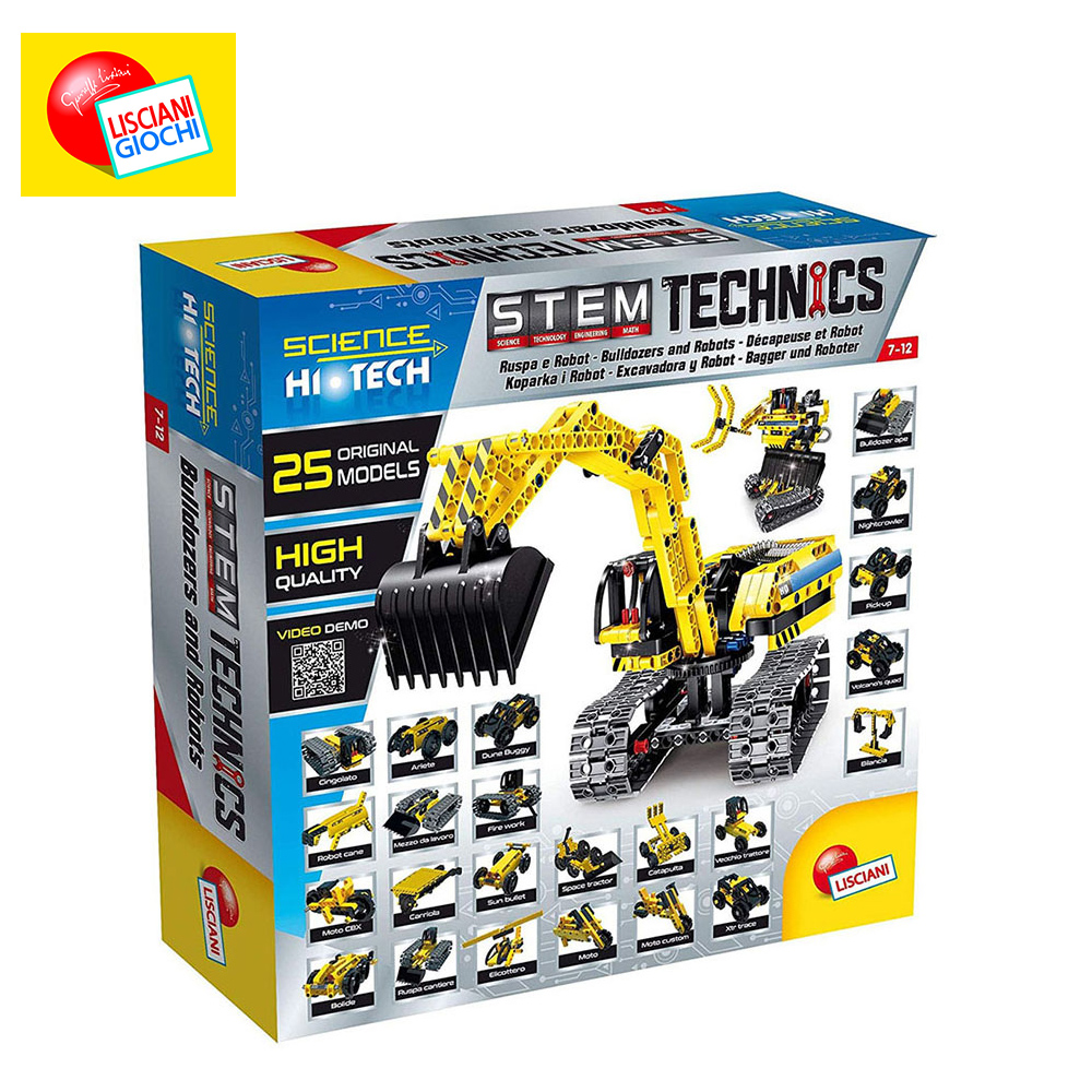 Фото - Interconnecting Blocks LISCIANI 66513 Designer Children Sorters Catamino Games Gear Toys Kids Building & Construction Toy weile technic city yellow ape moto model building blocks sets bricks kids classic toys for children compatible legoings creator