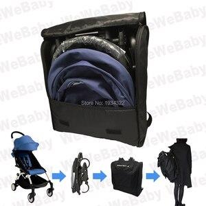 Image 5 - إكسسوارات لعربة الأطفال حقيبة ظهر مسند للقدمين لمسند ظهر حقيبة سفر babyzen YoYo بدلة راحة للقدم حقيبة ظهر لعربة الأطفال yoya