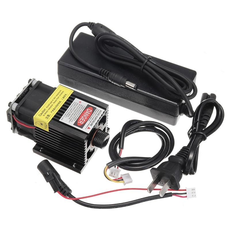 T05-5500 5500 mW 445nm Module Laser bleu TTL & PWM Modulation 2.54-3 P + 2.54-2 P pour EleksMaker bricolage Laser graveur de haute qualité