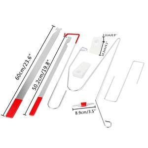 Image 5 - 9PCS/set Universal Automotive Emergency Open Unlock Tools Car Door Lock Out Repair Tool Kit Auto Car Care Car Repair Tool