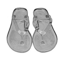 9df4c9a1e3e66e New Outcoor Womens Flip-flops Clear Transparent Sandals Beach shoes Slippers  for Ladies(China