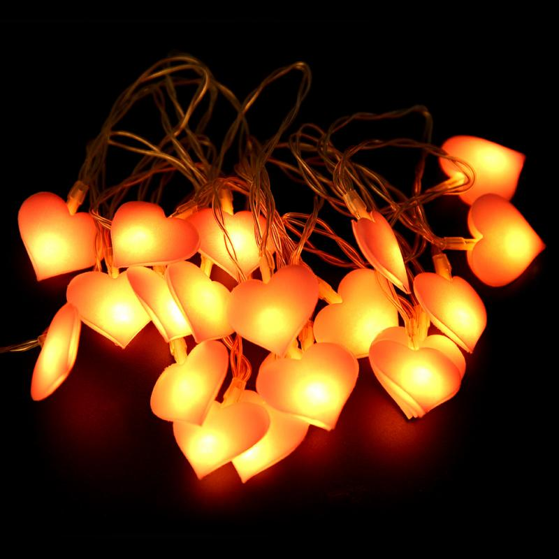Cheap String Lights Indoor: Aliexpress.com : Buy Wedding Party Heart Shaped LED String