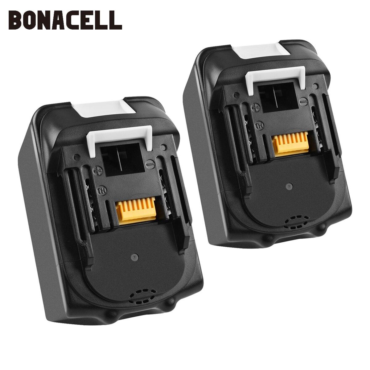 Bonacell 18V 9000mAh BL1830 Lithium Battery Pack Replacement for Makita Drill LXT400 194205-3 194309-1 BL1815 BL1840 BL1850 L30Bonacell 18V 9000mAh BL1830 Lithium Battery Pack Replacement for Makita Drill LXT400 194205-3 194309-1 BL1815 BL1840 BL1850 L30