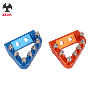 Image 5 - Motorcycle Foot Rear Brake Pedal Lever Step Tip Plate For KTM 125 250 350 450 SX SXF EXC EXCF XC XCF XCW Husqvarna TE FE TC FC