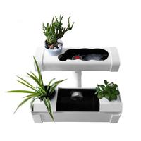110V Home Plant Site Hydroponic Systems Mini Nursery Pots Soilless Culture Plant Seedling Grow Kit Indoor Nursery Pot US Plug