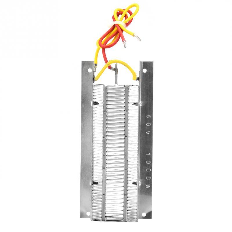 PTC Ceramic Air Heater 1000W 60V Conductive Type PTC