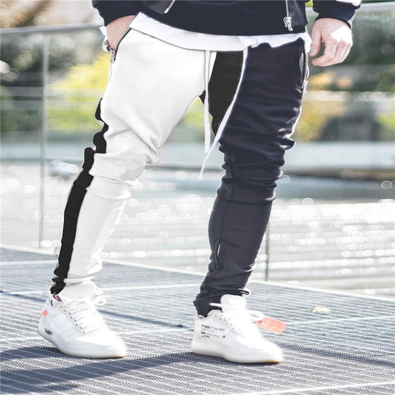 22fe95e9 Бесплатная доставка Новый 2019 бренд спортивный костюм модные мужские  спортивные толстовки комплекты из двух предметов флис