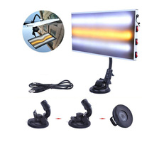 Paintless Dent Repair LED Light 3 Strips New Tools Auto Body Lamp Hail Removal
