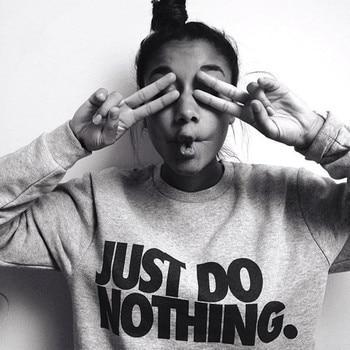 Elegantný dámsky sveter Just Do Nothing – 2 farby