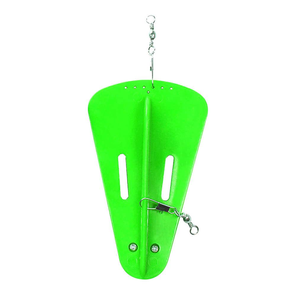 פלסטיק דיג חכות צלילה לוח עם 80g 120g משקולת עופרת משקל באופן חופשי Rotatable מסתובב מלוחים דיג אביזרים