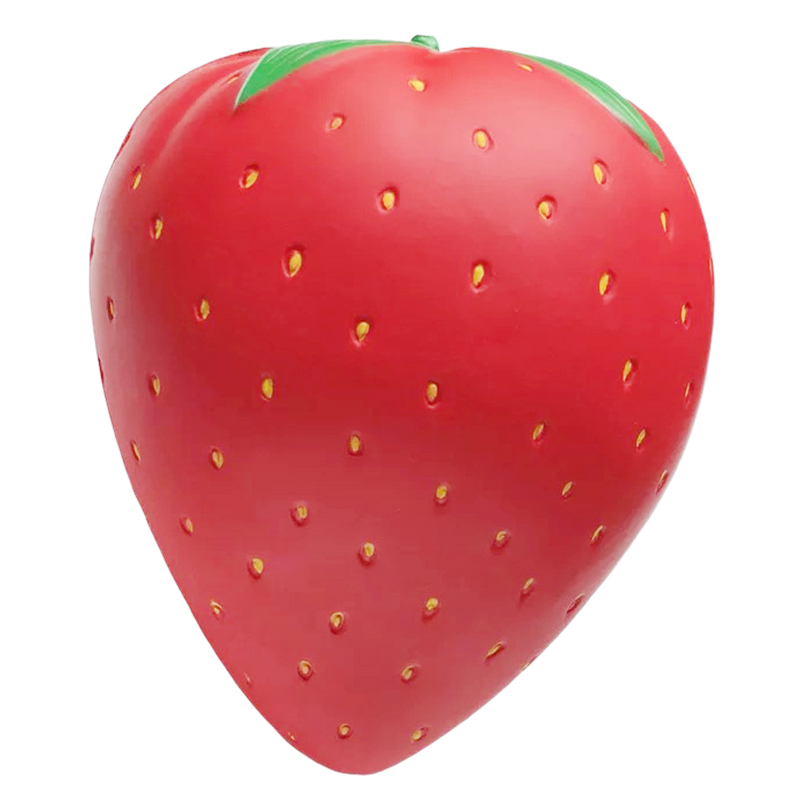 10 Inch Giant Squishy Strawberry Toy Soft Slow Rising Stress Relief Squeeze Hobbies Toys For Children Squeeze Scuishies Blandos