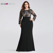 Evening-Dresses Guest-Gowns Ever Pretty Mermaid Wedding Elegant Plus-Size Robe-De-Soiree