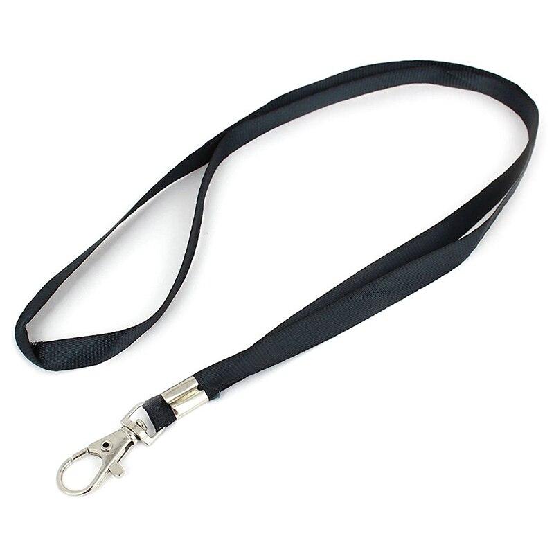 2 Pcs Black Nylon Strings Cord Key Band For Students
