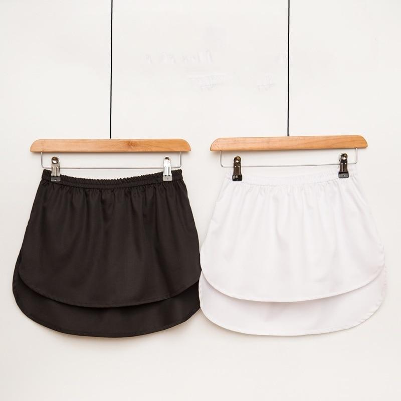 2019 New Spring Women False Shirt Skirt High Fillet Angle Half-body Skirt Irregular A Short Skirts Wholesale Drop Shipper