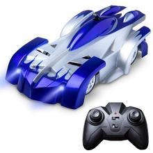 Пульт дистанционного управления антигравитационный настенный альпинистский Радиоуправляемый автомобиль потолочный гоночный автомобиль электрические игрушки машина Авто подарок детский Радиоуправляемый автомобиль