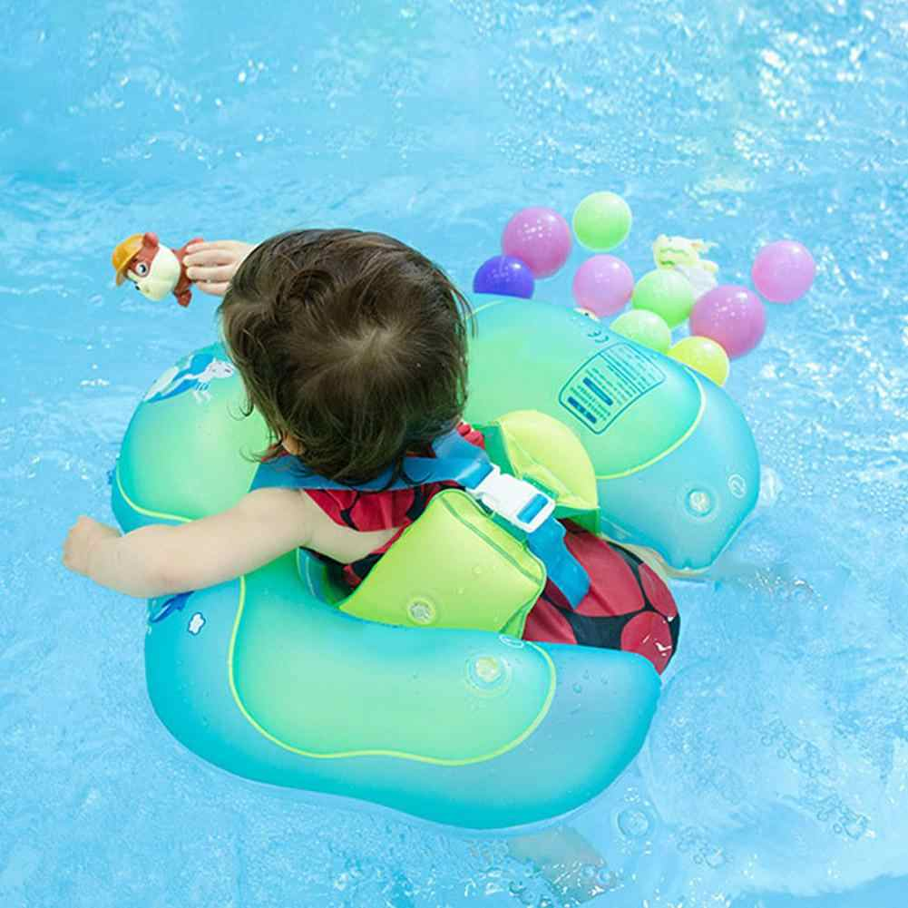 Baby Inflatable Swimming Ring Seat Float Bathing Floating Pool Water Toys Infants Swim Pool Accessories Circle Baby Learning Toy