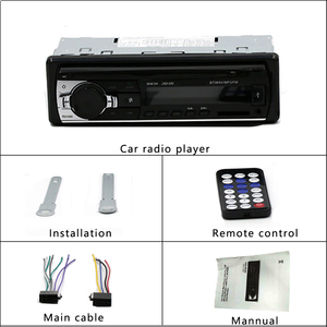 Image 5 - Hikity bluetooth autoradio 12 12v車ステレオラジオfm aux入力入力レシーバsd usb JSD 520 インダッシュ 1 din車MP3 マルチメディアプレーヤー