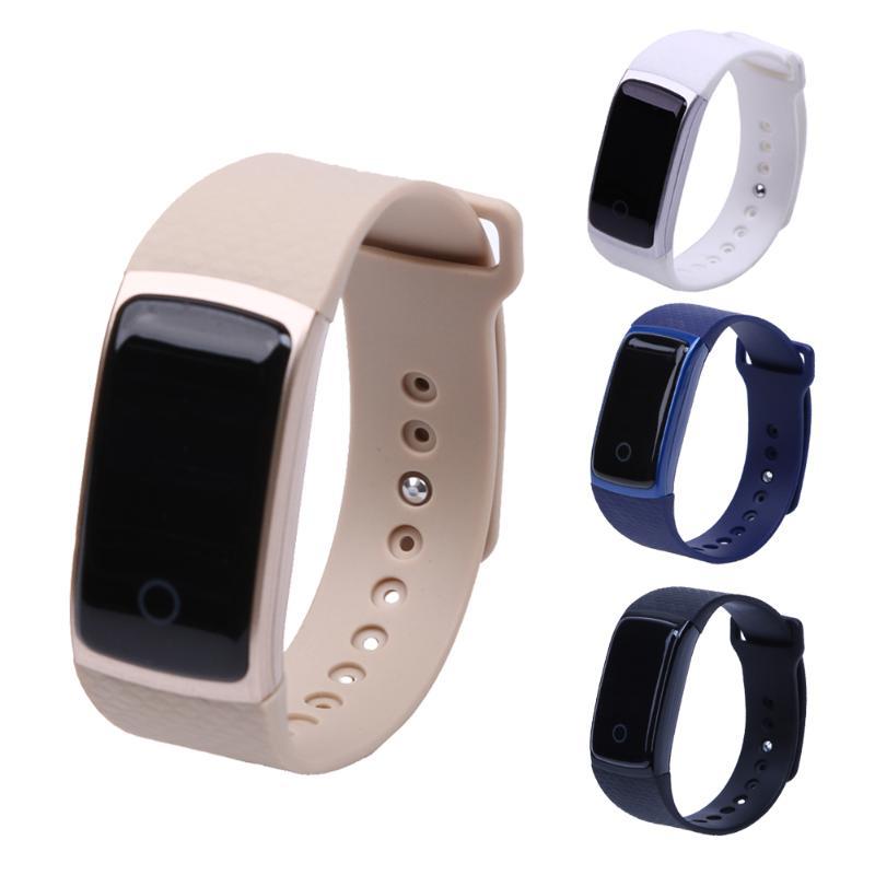 A09 Bracelet intelligent Bluetooth étanche Sport Smartband fréquence cardiaque Pedomete