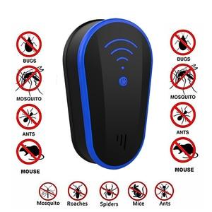 Image 1 - Wielofunkcyjny ultradźwięki przeciw komarom odstraszacz owadów szczur mysz karaluch Pest odrzuć odstraszacz ue/US Plug repelent Killer