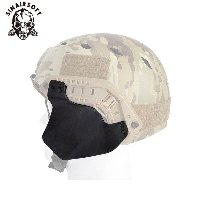 cac13c1ea17 Airsoft táctico militar escalada rápido casco de la cubierta lateral para  casco carril casco accesorios para