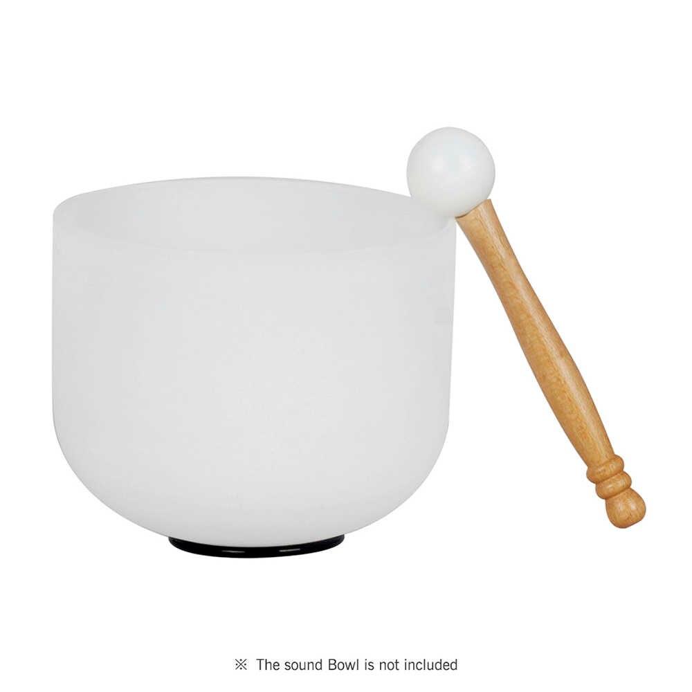 Резиновый молоток, палочка, Beater для хрустальной поющей чаши, деревянная ручка, профессиональная звуковая чаша, нападающая с резиновым кольцом, медитация