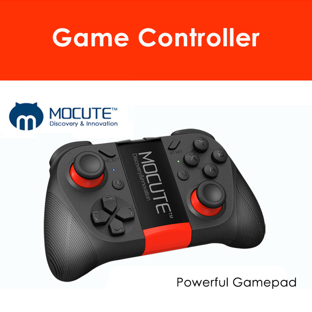 MOCUTE 050 Wireless BT Gamepad Dual Joystick Phone Holder Telescopic Game Controller Smartphone Tablet Handle for PC TV