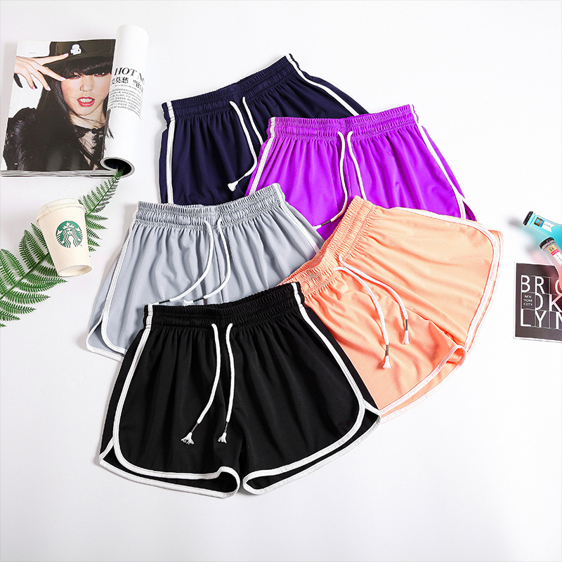 S-5XL Plus Size Womens   Shorts   Summer 2019 Casual Loose Sport Joggers Female Pantolon Slim Elastic Waist Wide Leg Hot   Shorts