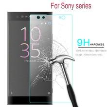 Tempered Glass For sony xperia xa1 Screen Protector For sony xperia z3 compact mini XA1 Ultra Plus XA E5 m4 aqua m2 z2 L1 Cover цена