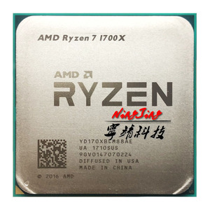 Image 1 - AMD Ryzen 7 1700X R7 1700X 3.4 GHz Eight Core CPU Processor YD170XBCM88AE Socket AM4