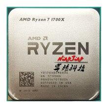 Amd Ryzen 7 1700X R7 1700X 3.4 Ghz Acht Core Cpu Processor YD170XBCM88AE Socket AM4