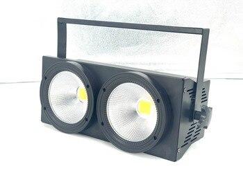 2x 100W Led COB Par Lichter 200W Led Publikum Blinder Lichter RGBWA UV 6IN1 Warm Weiß Kühles Weiß Led Strobe Waschen Disco Dj Licht