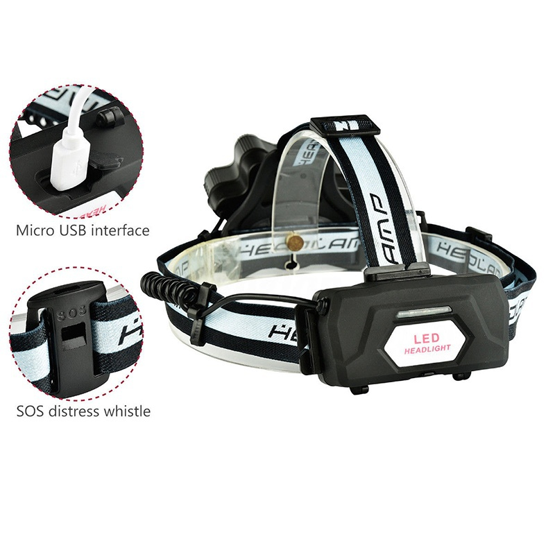 Super bright 90000 lumens led headlamp 9led xm l t6 headlight waterproof frontal led usb charge camping Headlamps in Holiday Lighting from Lights Lighting