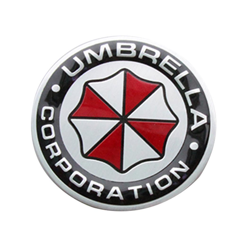 Metal 3D Resident evil Umbrella corporation car Badge Emblem Car sticker
