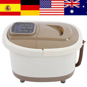 Bath-Bucket Massage Pedicure Heat-Soaker Bubble Electric-Foot Portable Spa 4L Vibration