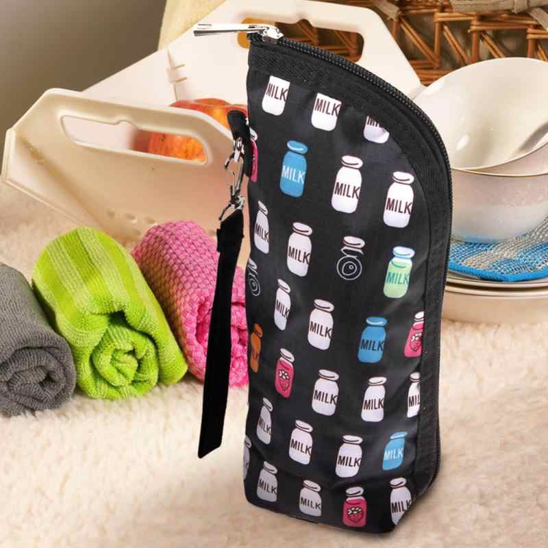 1pc Travel Portable Bags Baby Feeding Milk Bottle Warmer Mummy Insulation Tote Bags Feeding Bottle Bag Baby Bottle Insulation