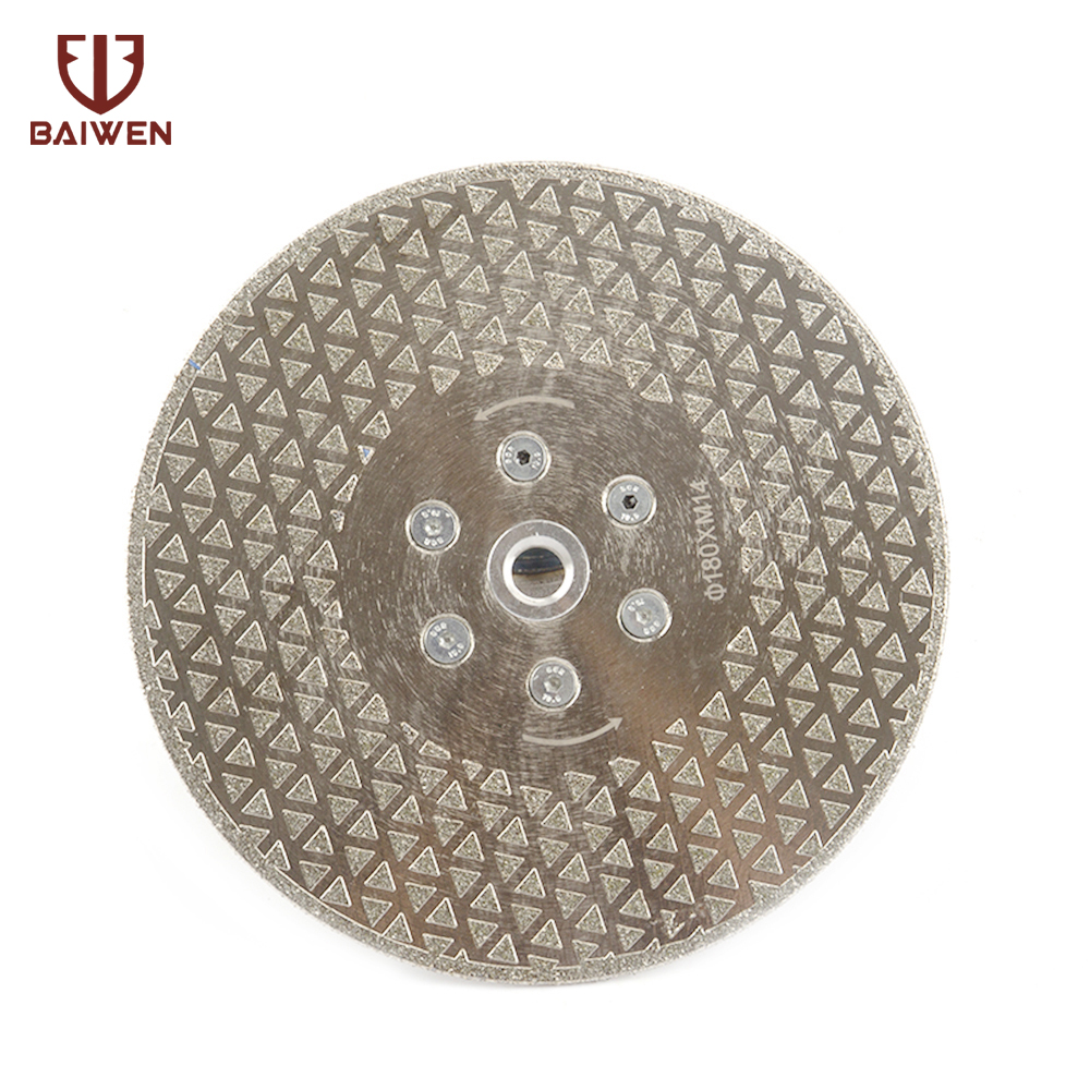 180mm Diamond Cutting Disc M14 6 Holes For Granite Marble Cutting Saw Blade