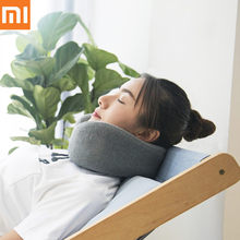 2019 Xiaomi Youpin LERAVAN Multi-Function U-Shaped Massage Neck Pillow Mijia Messager With Battery For Home Office Travel(China)