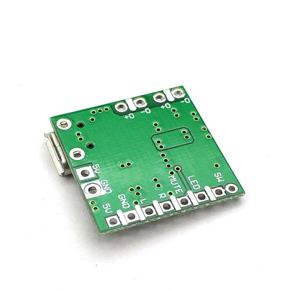 PAM8403 Dc 5V Mini Klasse D 2X3W Usb Power Versterker Board Diy Bluetooth Speaker 2*3W Klasse D Digitale Versterker Boord