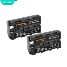 Bonacell 3000 мАч NP-F550 NP F550 NPF550 Камера Батарея для Sony NP-F330 np-f530 NP-F570 np-f730 NP-F750 hi-8 GV-D200 D800 L10