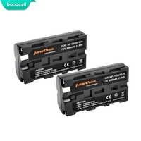 Bonacell 3000mAh NP-F550 NP F550 NPF550 Camera Battery for Sony NP-F330 NP-F530 NP-F570 NP-F730 NP-F750 Hi-8 GV-D200 D800 L10