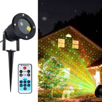 New Style COB Garden Lawn Lamp Light AC 110V 240V Outdoor LED Spike Light 4W Path Landscape Waterproof Spot Bulbs Green&Red LED