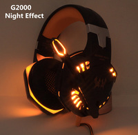 High Quality Gaming Headphone Kotion EACH G2000 Stereo Game Headsets cesque with Microphone LED Light for Computer PC Gamer fone