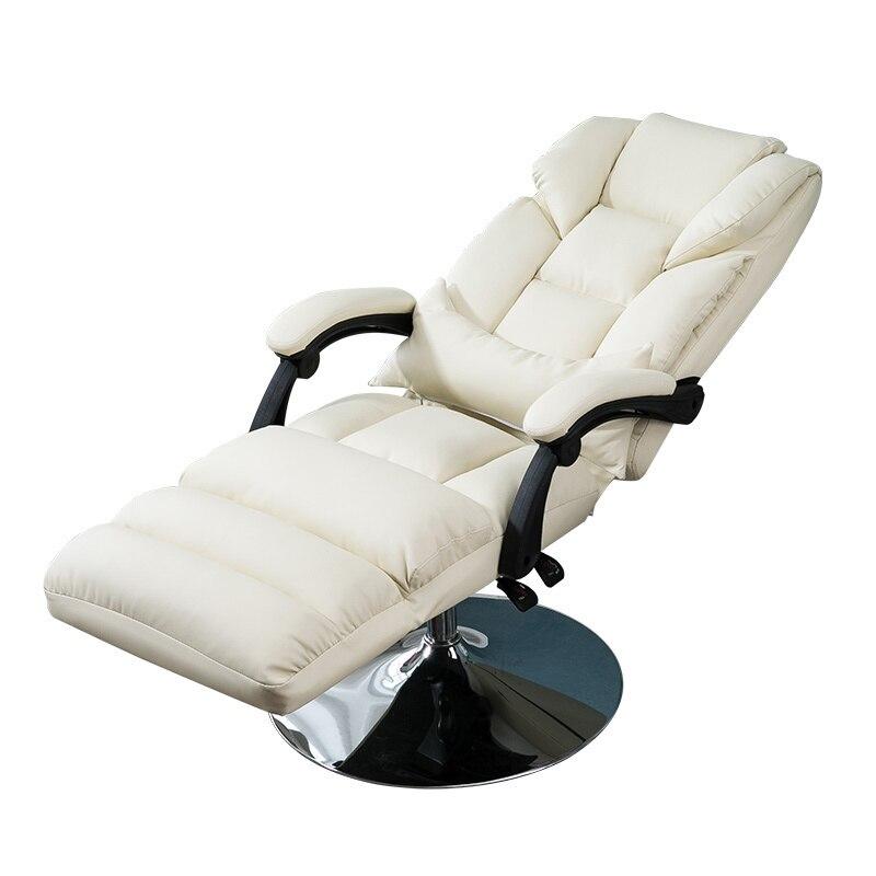 Imagen de Luxury Beauty Chair Reclining Lift Comfortable Beauty Mask Stool Flat Reclining Chair Computer Chair Lunch Break Offices
