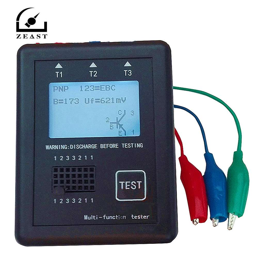M328 Diode Triode Capacitor Resistor Transistor Tester ESR Meter Multi Function Tester With Shell