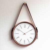 Creative Modern Belt Wall Clock Living Room 3d Wall Decor Home Nordic Design Reloj De Pared Big Clocks Wall Home Decor 50ZB0076