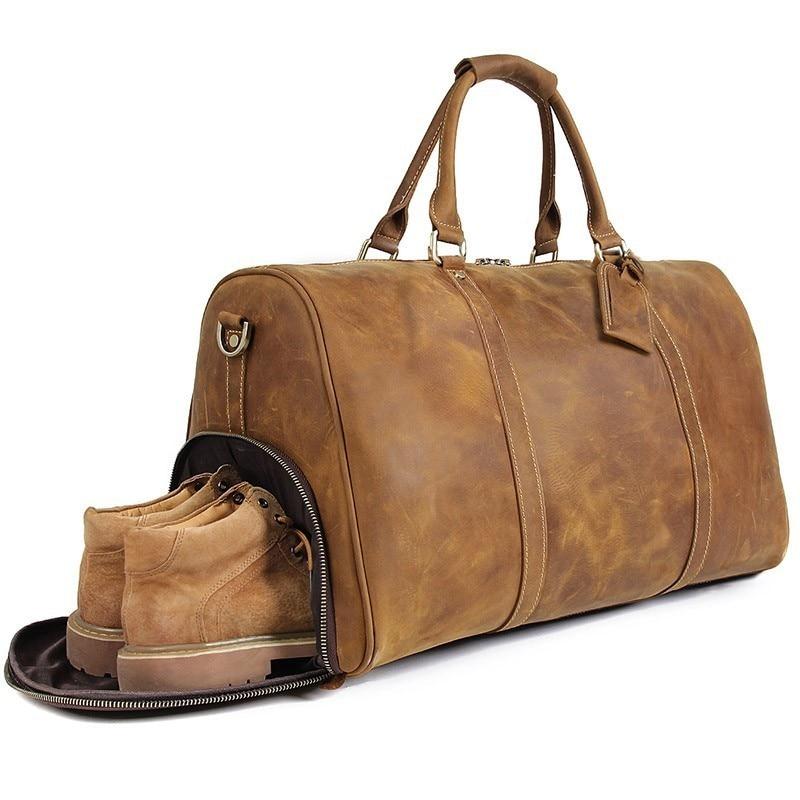 2019 Waterproof Travel Bag Large Capacity Men Hand Luggage Travel Duffle Bags Leather Handbag Multifunction Shoulder Bag Bolsos2019 Waterproof Travel Bag Large Capacity Men Hand Luggage Travel Duffle Bags Leather Handbag Multifunction Shoulder Bag Bolsos