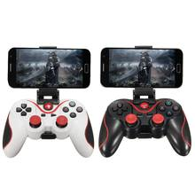 Wireless Bluetooth Gamepad Portable Gaming Controller Bracket Set for Android Sm